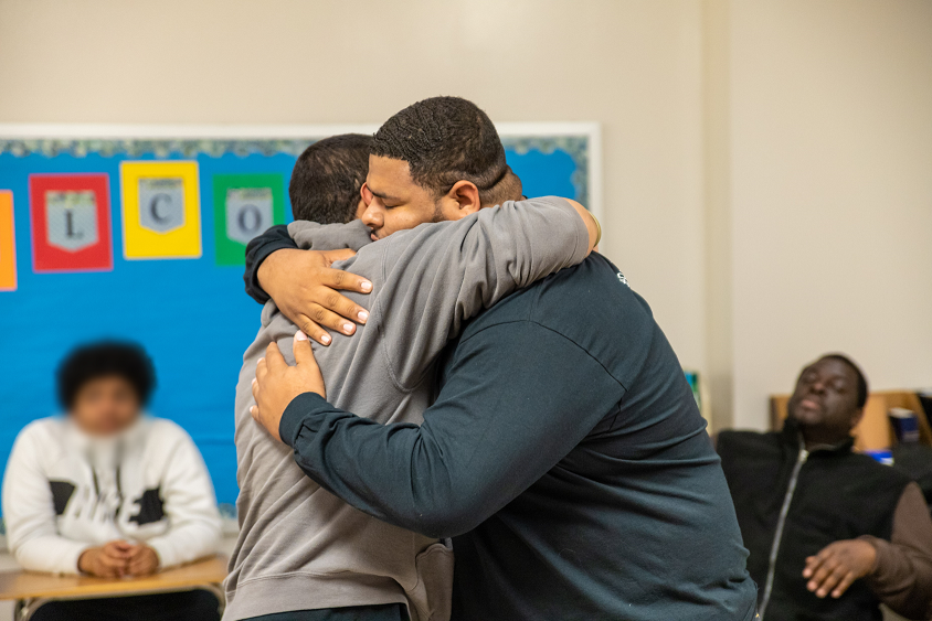 Boys to Men: Young men find support in mentoring program